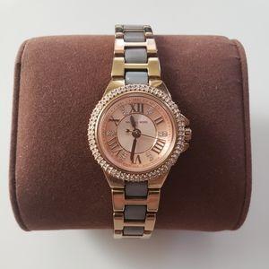 Michael Kors Petite Camille Rose Dial Ladies Watch